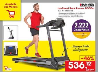 Hammer Laufband Race Runner 2000m