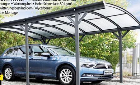 Design Carport Angebot Bei Norma