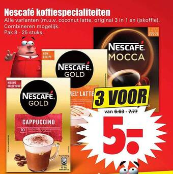 Nescafe Koffiespecialiteiten