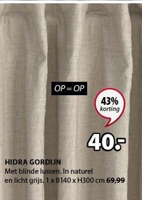 Hidra Gordijn
