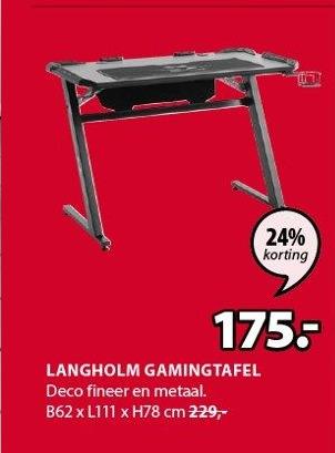Langholm Gamingtafel