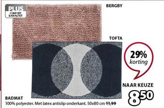 Badmat Bergby of Tofta