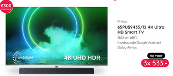 Philips 65PUS9435/12 4K Ultra HD Smart TV