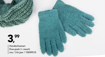 Handschoenen duo-pack 3-6 jaar