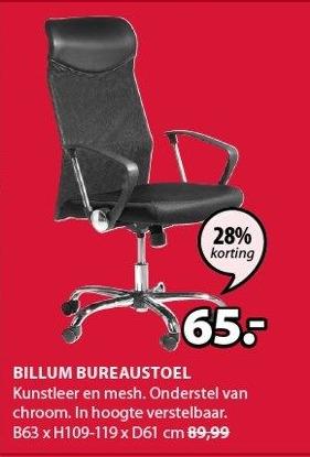 Billum Bureaustoel