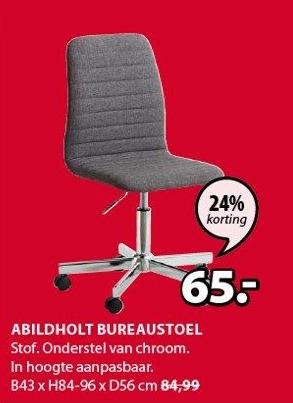 Abildholt Bureaustoel