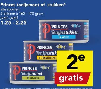 Princes tonijnmoot of -stukken