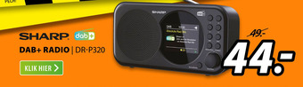 SHARP DAB+ radio