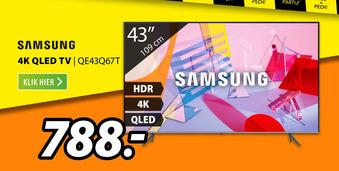 SAMSUNG 4K QLED TV