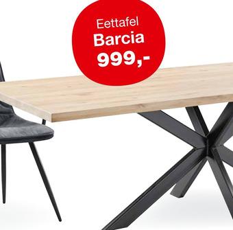 Eettafel Barcia