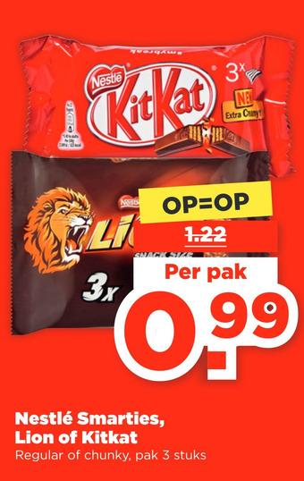 Nestlé Smarties, Lion of Kitkat