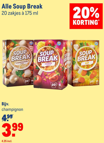 Alle Soup Break