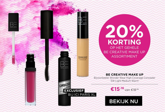 Be Creative Make Up Wonder Wear High Coverage Concealer