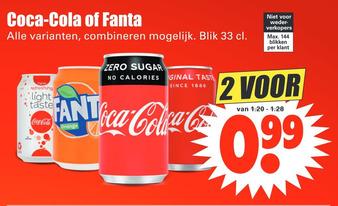 Coca-Cola of Fanta