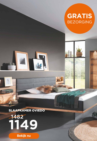 Slaapkamer Oviedo
