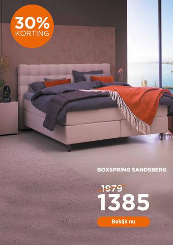 Boxspring Sandsberg