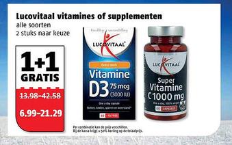 Lucovitaal vitamines of supplementen