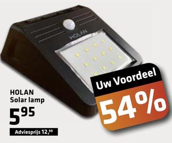 HOLAN Solar lamp