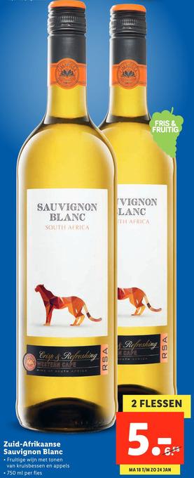Zuid-Afrikaanse Sauvignon Blanc