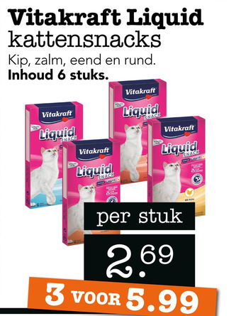 Vitakraft Liquid kattensnacks