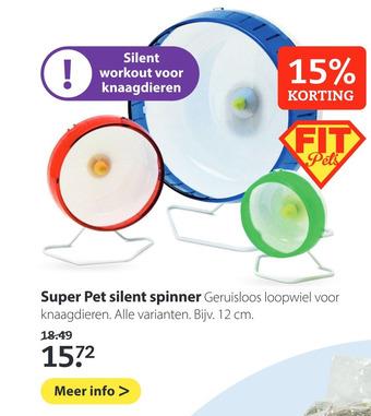 Super Pet silent spinner