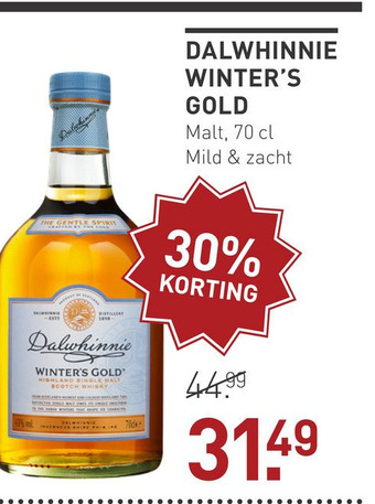 Dalwhinnie Winters Gold 70CL Whisky