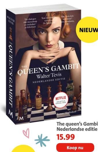 The queen's Gambit Nederlandse editie