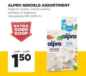 Alpro Soya yoghurt of kwark of mild&creamy