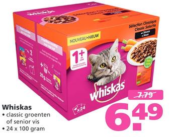 Whiskas 24 x 100 gram