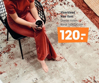 Vloerkleed New Kent 160x230cm