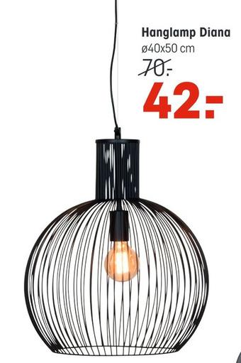 Hanglamp Diana 40x50cm