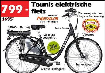 Tounis elektrische fiets