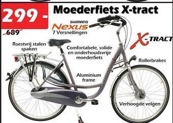 Moederfiets x-tract 7 versnellingen