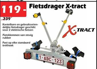Fietsdrager X-tract
