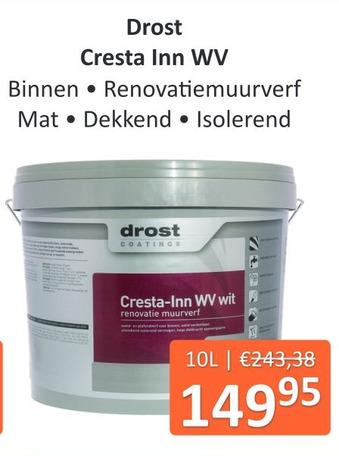 Drost Cresta Inn WV 10L