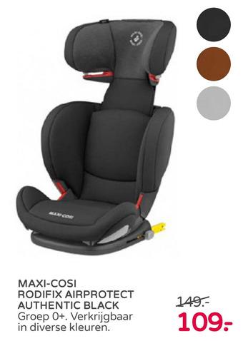 Maxi-cosi rodifix airprotect authentic black