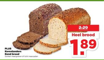 Korenlanders Rond brood