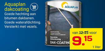 Aquaplan Dakcoating 1liter