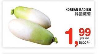 Korean Radish