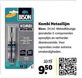 Kombi Metaallijm 24 ml