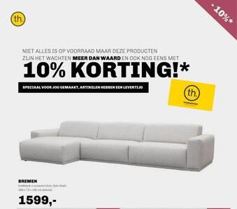 Bremen Hoekbank In Actiestof Oso Shell 356x72x160 Cm