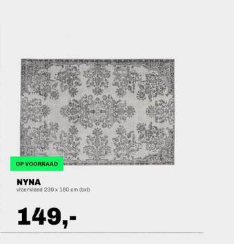 Nyna Vloerkleed 230x160 cm