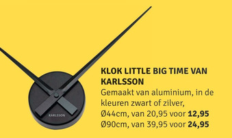 Karlsson Klok Little Big Time