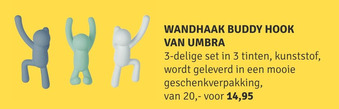 Umbra Wandhaak Buddy Hook
