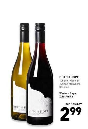 dutch hope 75cl