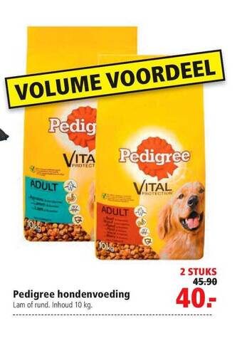 Pedigree Hondenvoeding 10kg