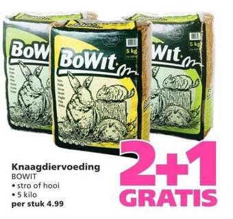 Knaagdiervoeding Bowit 5 kilo