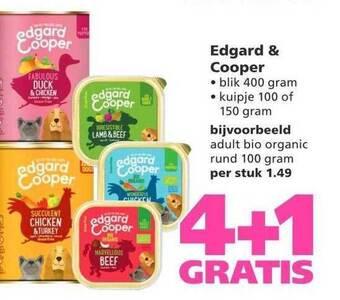 Edgard & Cooper 4+1 Gratis