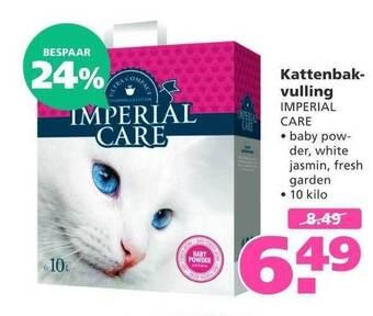 Kattenbakvulling Imperial Care 10 kilo