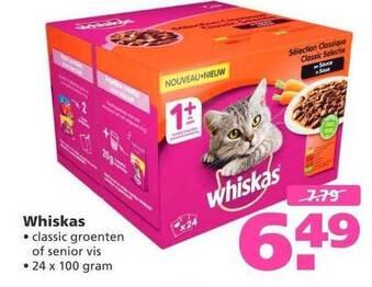 Whiskas 24x100g